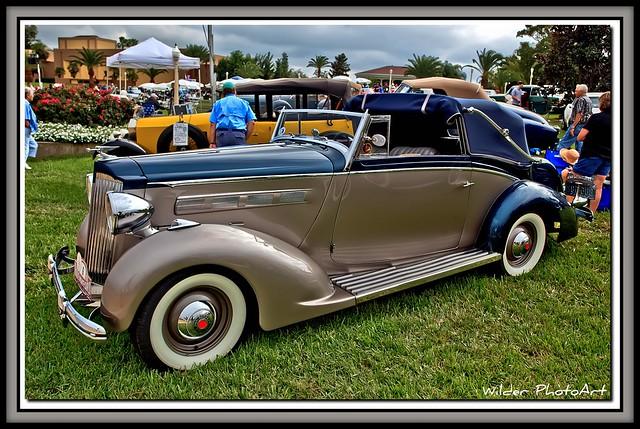 1937 Packard 120 Drophead Convertable (Very Rare)