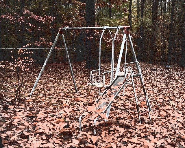 The gallery for --> Vintage Swing Set