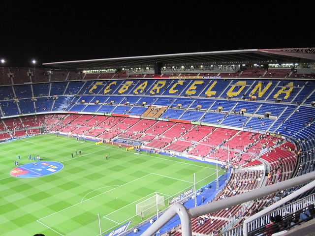 Stadiums of Spain - Camp Nou Stadium