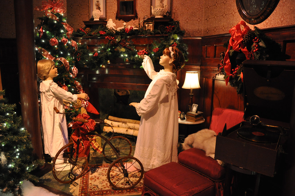Jordan Marsh Enchanted Village At Jordans Furniture, Avon, MA