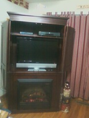 Dimplex Cherry Electric Entertainment Center - DFP6776C