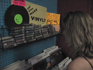 Vintage Vinyl and tapes