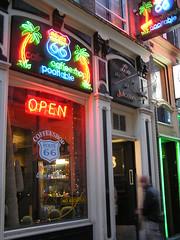 Amsterdam Route 66 coffeeshop