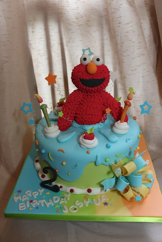 Elmo Design Birthday Cake : Sweet Mischief Ja Cake Ideas: Elmo inspired cakes