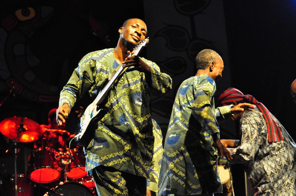 King Sunny Ade at Ottawa Bluesfest 2009 | Andrew Carver | Flickr