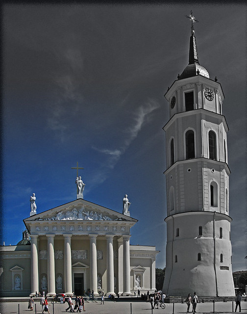 Cathedral of Vilnius - The icon stands through times