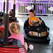 Noah on the bumper cars