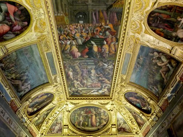 Soffitto della Sala di Clemente VII - Palazzo Vecchio, Firenze  Flickr - Photo Sharing!