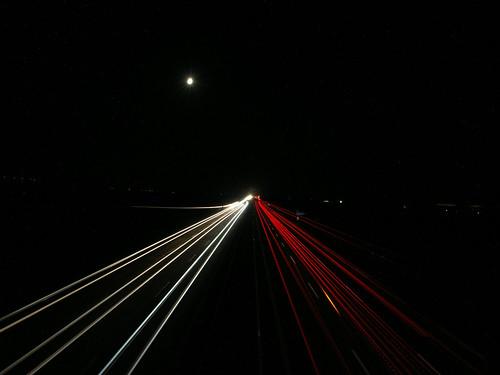 A9 Bei Nacht