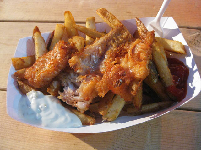 Food Truck Fish And Chips Brest