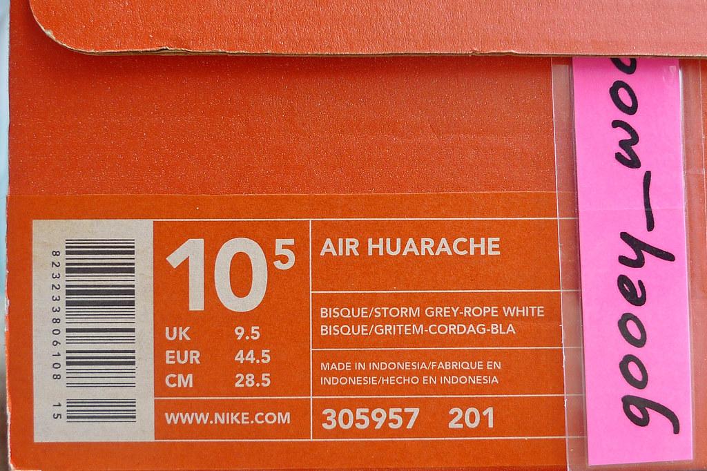 d991ed86528f ... Nike Air Huarache LE  Escape  - Bisque   Storm Grey - Rope White (
