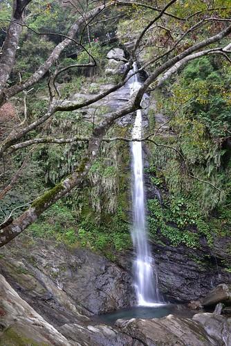 瓦拉米步道-山風瀑布
