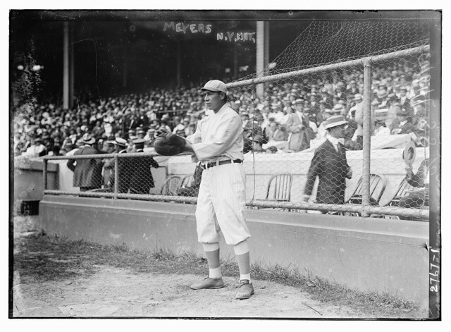 [Chief Meyers, New York NL (baseball)] (LOC)