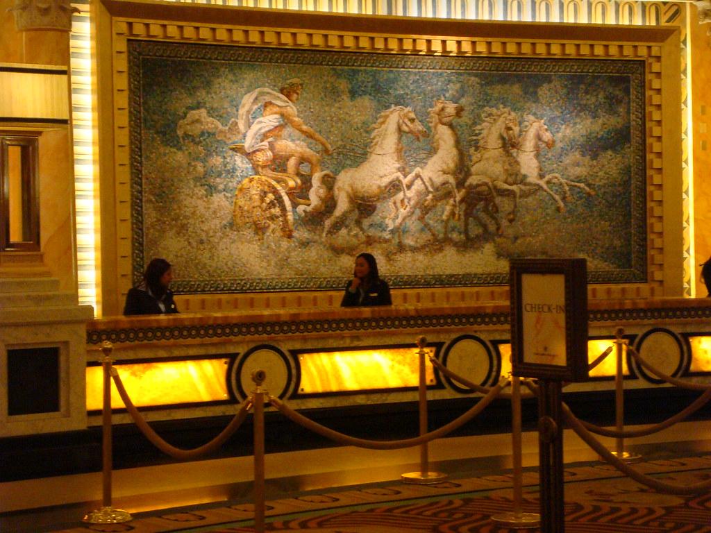 Beautiful Casearu0027s Palace Front Desk. Caesaru0027s Palace Las Vegas