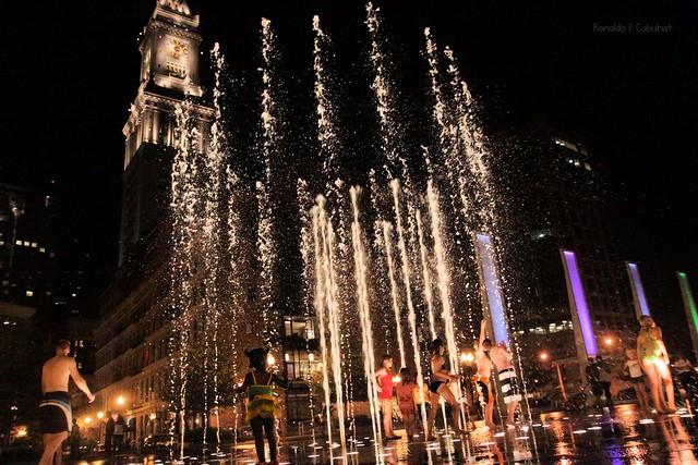 Rings Fountain Of Boston