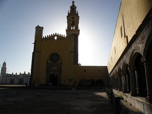 P8230491 El convento de San Gabriel en Cholula.,Puebla. Mexico por LAE Manuel Vela
