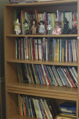 there is no place like home show and tell friday Book Shelves with Books Bookshelves in a Library of Printable Pictures