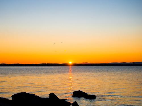 sunrise nikon lakechamplain d60 summer2009