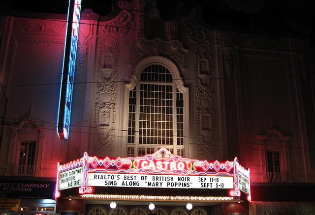 Castro Theatre at Nigh...
