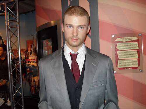 Madame Tussauds Amsterdam - Justin Timberlake