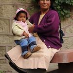 Proud Mother and Daughter - Yauli, Peru