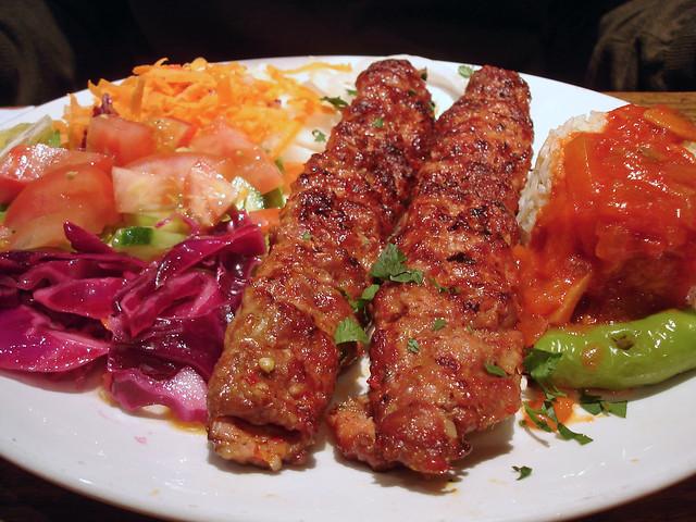 Популярный кебаб в Турции: Адана Кебаб
