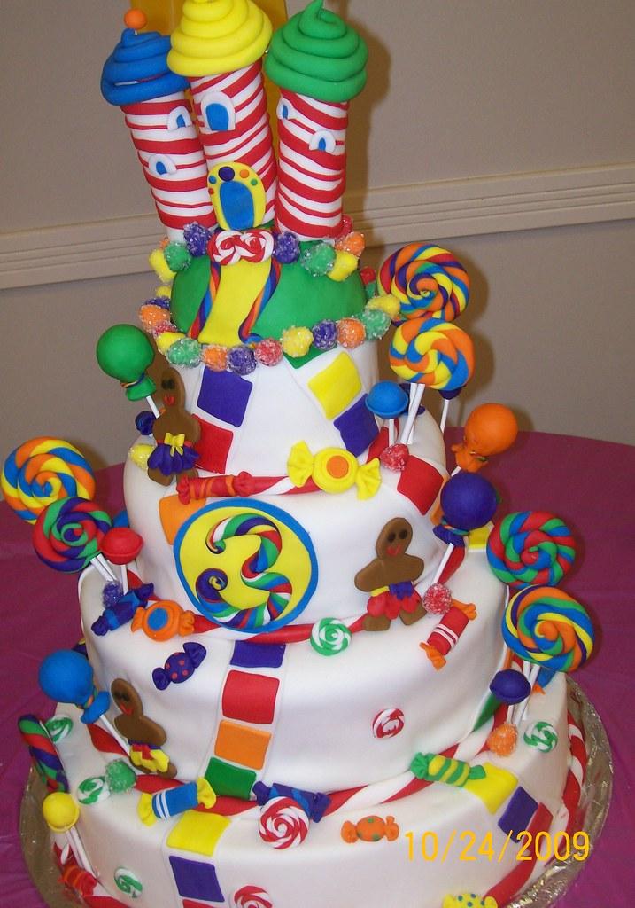 Candy Land Cake