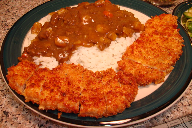 Tonkatsu Curry | Flickr - Photo Sharing!