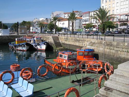 Dársena de Curuxeiras, Ferrol.