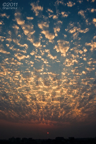 sunset clouds canon 1000d shamimul