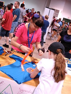 Maker Faire NC: T-Cycle with Kelly Farrow