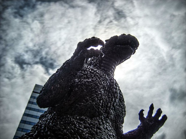 [HDR][CHDK]Godzilla from Flickr via Wylio