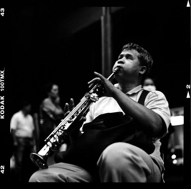 Blind Sax Melancholy - Bangkok, city of angels