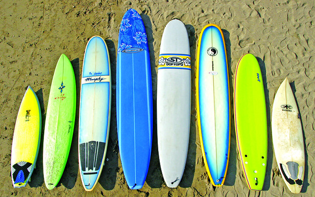 Which Surfboard Did George Downing Design For Big Wave Surfing