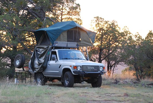 Fj60 Roof Tents : Upbeat sitdown room with a view