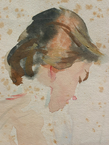 Sargent Watercolor Portraits
