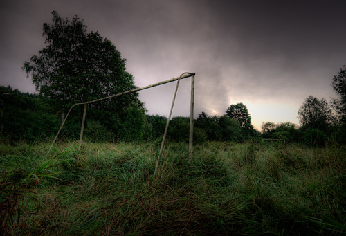 trees sky history abandoned nature field grass sunrise football destruction soccer memories oldness hdr goalpost ranked