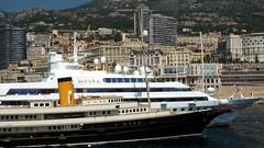 Lady Moura & Nero Yacht in Monaco