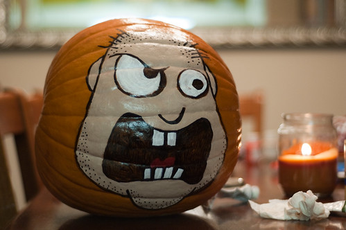 The Angry Pumpkin