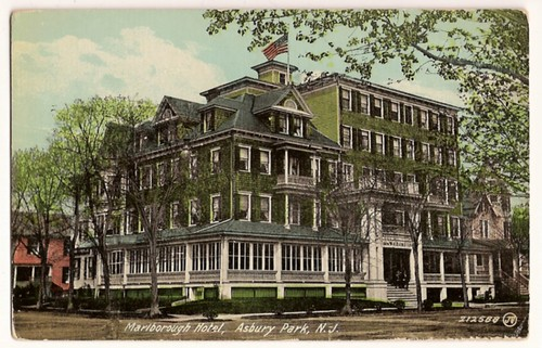 Vintage Postcard-Marlborough Hotel, Asbury Park, N.J.