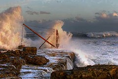 portland bill November storms