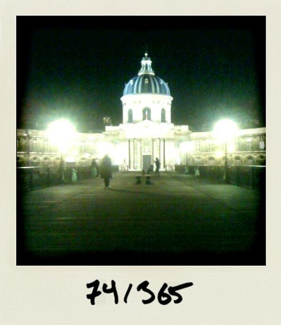 photo polaroid nuit