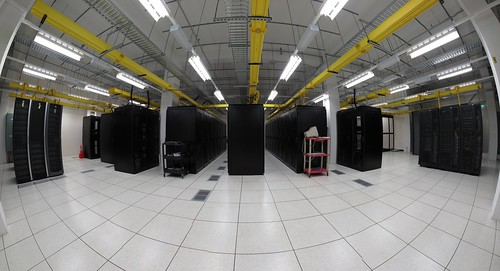Data centre panorama