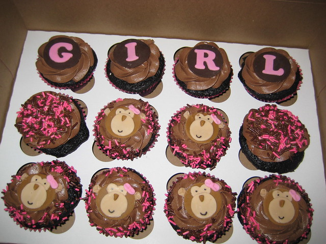 Girl Monkey Cupcakes Flickr Photo Sharing