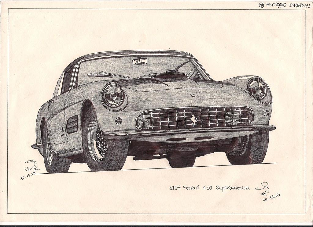 1957 Ferrari 410 Superamerica