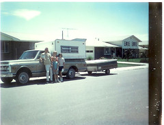 Family and Camper at Longmont 7_9_1970
