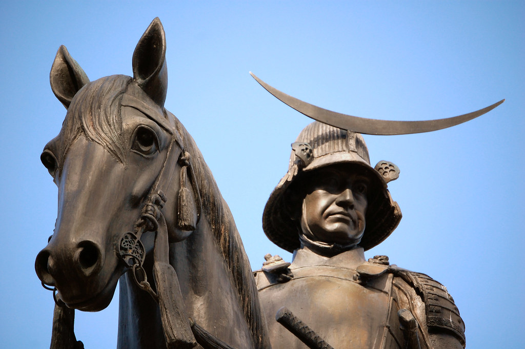Masamune Statue