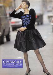 Vintage Ad #986: Givenchy at Hazleton Lanes