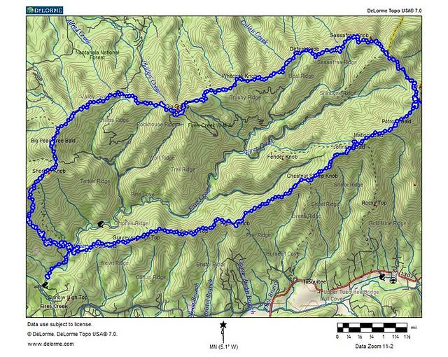 white rim trail map pdf
