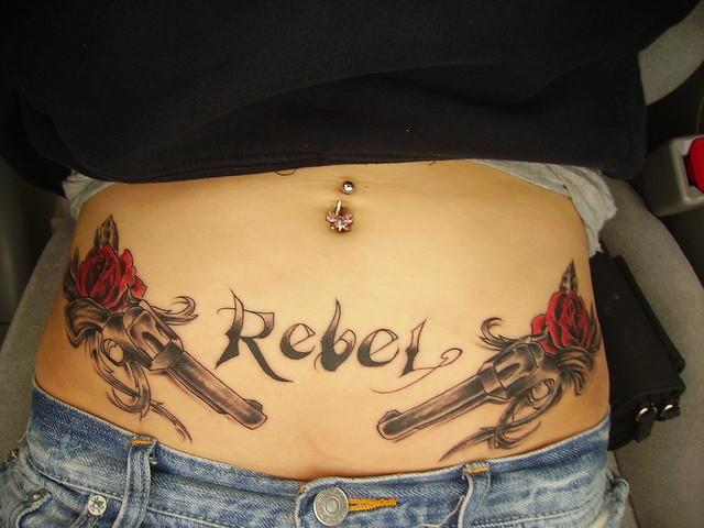 Rebel tattoo flickr photo sharing for Rebel tattoo designs